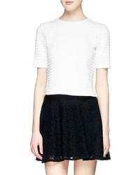 Nobrand Hesha Textured Gingham Check Top
