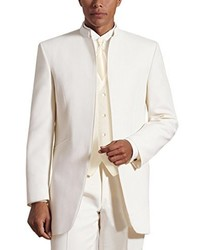White Three Piece Suit