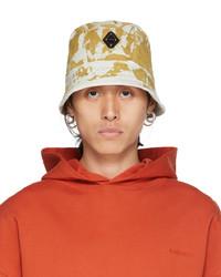 A-Cold-Wall* Off White Splatter Diamond Bucket Hat