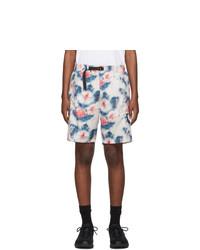 Stussy White Tie Dye Sport Shorts