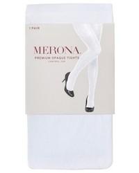 Merona Premium Control Top Opaque Tights