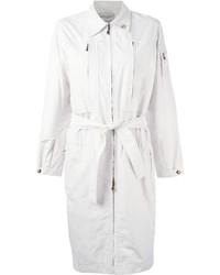 Saint Laurent Yves Vintage Zipped Up Trench Coat