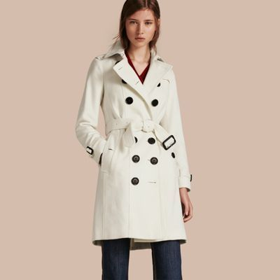 9e9ba3257c0c ... Trenchcoats Burberry Sandringham Fit Cashmere Trench Coat ...