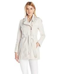 Vince Camuto Water Repellent Belted Trench Coat
