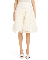 Marc Jacobs Polka Dot A Line Skirt