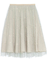 Collection tulle midi skirt medium 107569