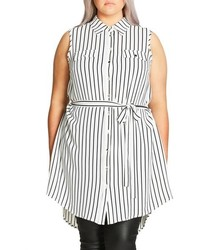 City Chic Plus Size Lunch Date Tunic