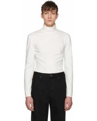 Calvin Klein 205w39nyc White Logo Turtleneck