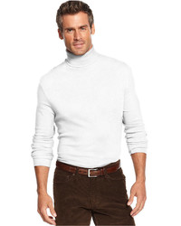 John Ashford Big And Tall Solid Turtleneck Shirt