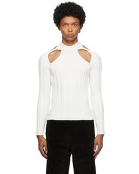 Dion Lee Collarbone Skivvy Long Sleeve T Shirt