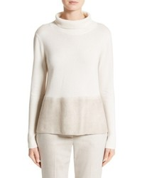Felted cashmere turtleneck medium 5169757