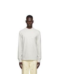 Aimé Leon Dore Grey Dimebag Long Sleeve T Shirt