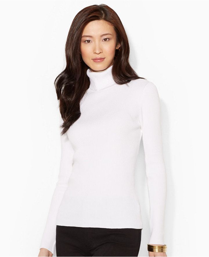 Lauren Ralph Lauren Long Sleeve Turtleneck Sweater | Where to buy ...