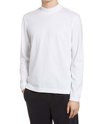Club Monaco Mock Neck T Shirt