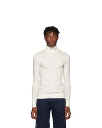Ambush Off White Logo Long Sleeve Turtleneck