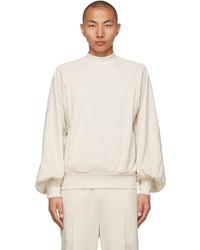 Random Identities Off White Rich Sleeve Sweatshirt