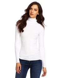 Three Dots Rib Turtleneck