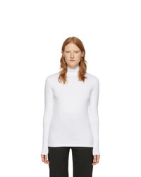 Won Hundred White Logo Roxy Turtleneck