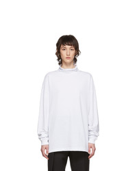 1017 Alyx 9Sm White Visual Turtleneck