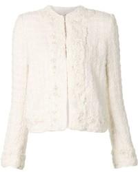 Alice + Olivia Aliceolivia Embellished Tweed Jacket