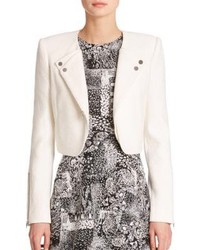 BCBGMAXAZRIA Nathan Double Lapel Knit Jacket