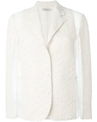 Nina ricci panelled tweed blazer medium 425391