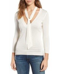 AG Jeans Ag Winnie Tie Neck Sweater