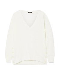 J.Crew Button Embellished Sweater
