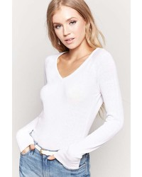 Forever 21 Classic V Neck Sweater