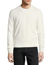 Cloud cashmere v neck sweater medium 5359678