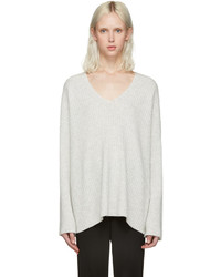 Rag & Bone Grey Cashmere Phyllis Sweater