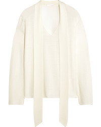 Chloé Merino Wool Sweater White