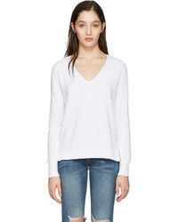 Rag & Bone White Taylor Sweater