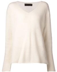 The Elder Statesman V Neck Sweater