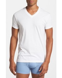 2xist 2ist Pima Cotton V Neck T Shirt