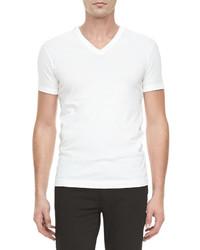Dolce & Gabbana 4 Pocket Jean Jacket Basic V Neck Tee Gart Dyed Stretch Twill Pants
