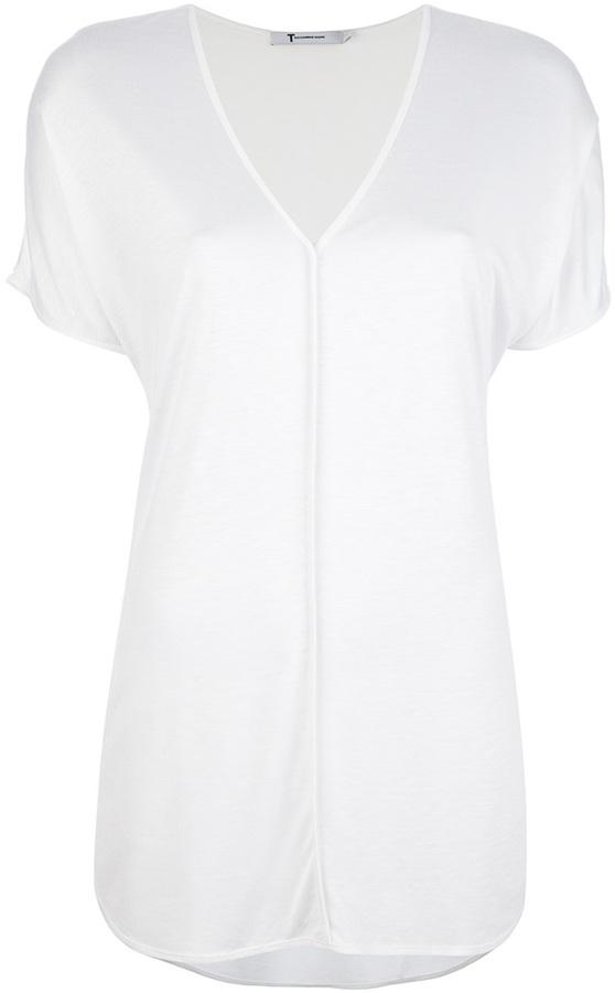 Alexander Wang T By Semi Sheer T Shirt