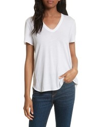 Veronica Beard Cindy V Neck Tee