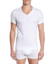 Hanro Cotton Superior V Neck T Shirt