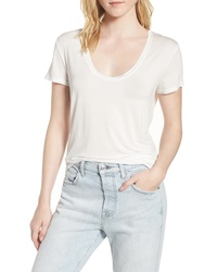 Splendid Deep U Neck Tee