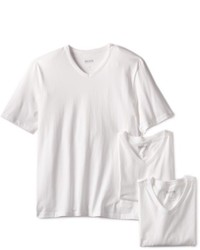 Hugo Boss Boss 3 Pack Cotton V Neck T Shirt