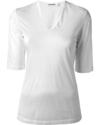 Jil Sander V Neck T Shirt