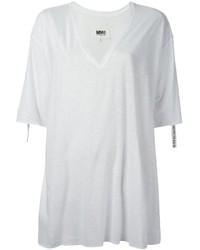 MM6 MAISON MARGIELA Oversize V Neck T Shirt