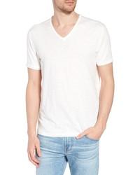 John Varvatos Star USA Slim Fit Slubbed V Neck T Shirt
