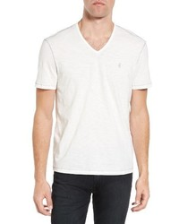 John Varvatos Star Usa Slub V Neck T Shirt