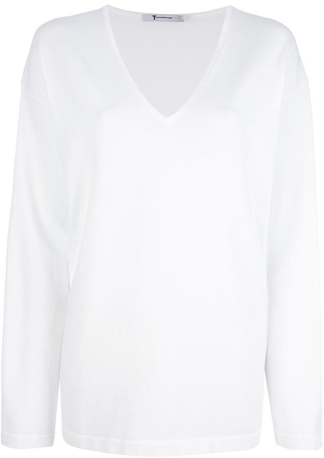 Alexander Wang T By V Neck T Shirt