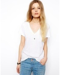 Asos T Shirt With V Neck
