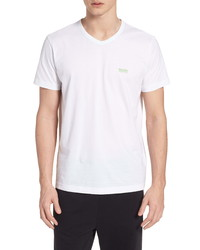 BOSS Teevn Regular Fit V Neck T Shirt