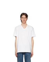 Calvin Klein Underwear Three Pack White V Neck Classic Fit T Shirt