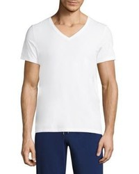 Hanro V Neck Cotton Tee